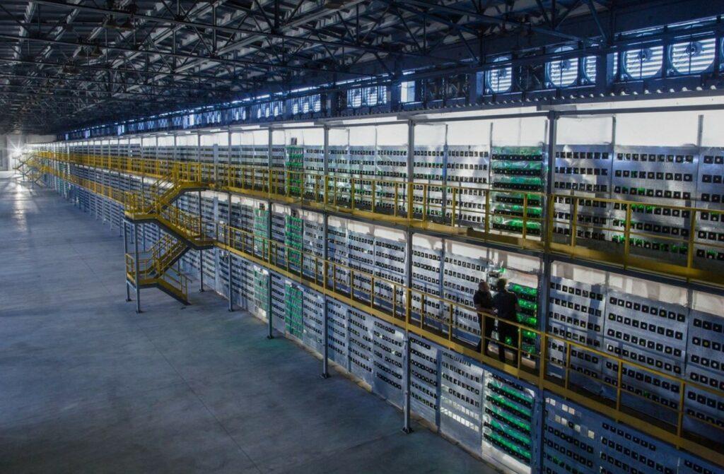 Bitcoin Mining Warehouse Russia