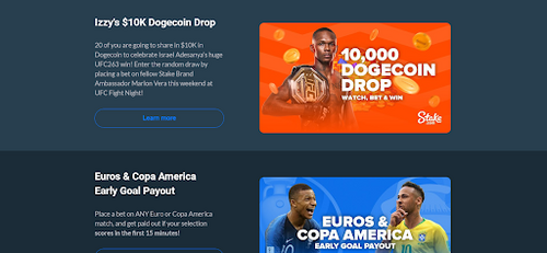 More Stake.com promotions