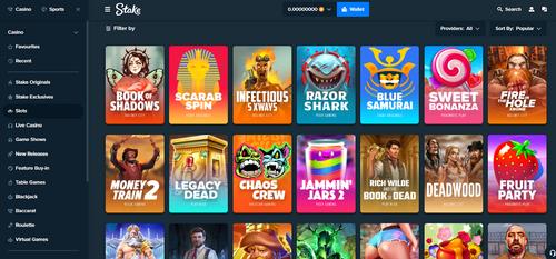 Stake.com slots