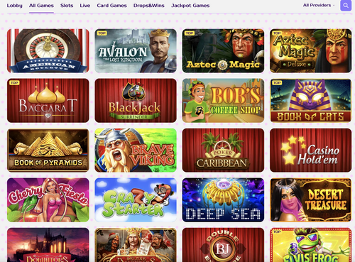 Kim Vegas casino games