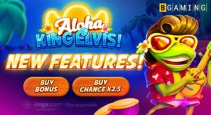 Aloha King Elvis new features